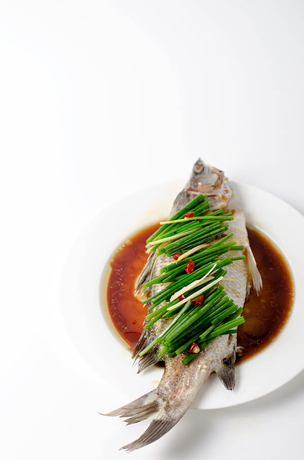 Authentic Chinese Steamed Fish | omnivorescookbook.com