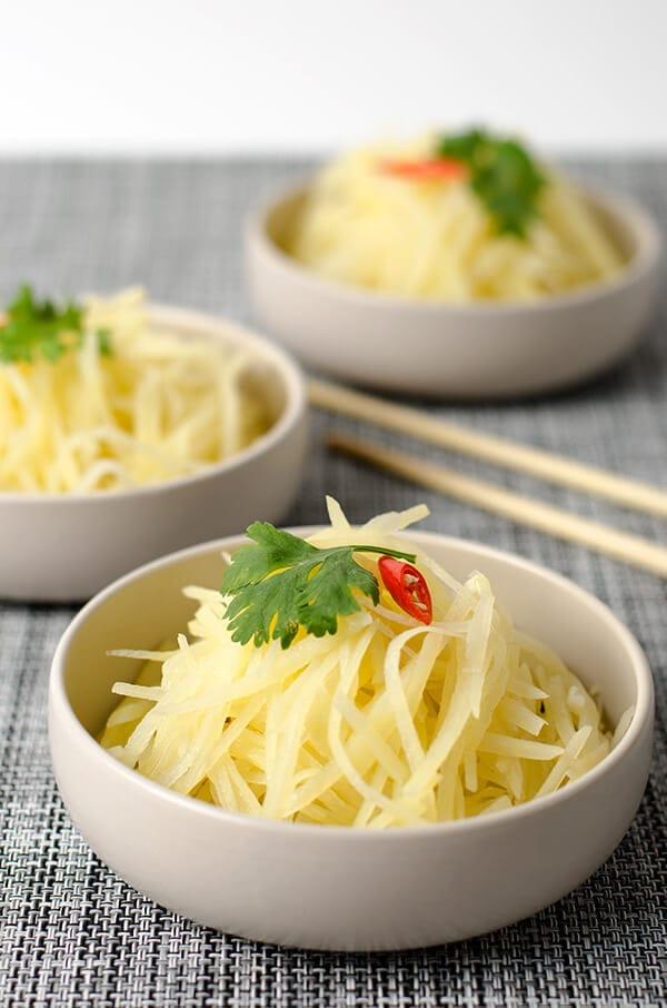 Chinese Style Potato Salad | Omnivore's Cookbook