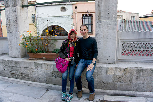 Thomas and me in Istanbul | omnivorescookbook.com