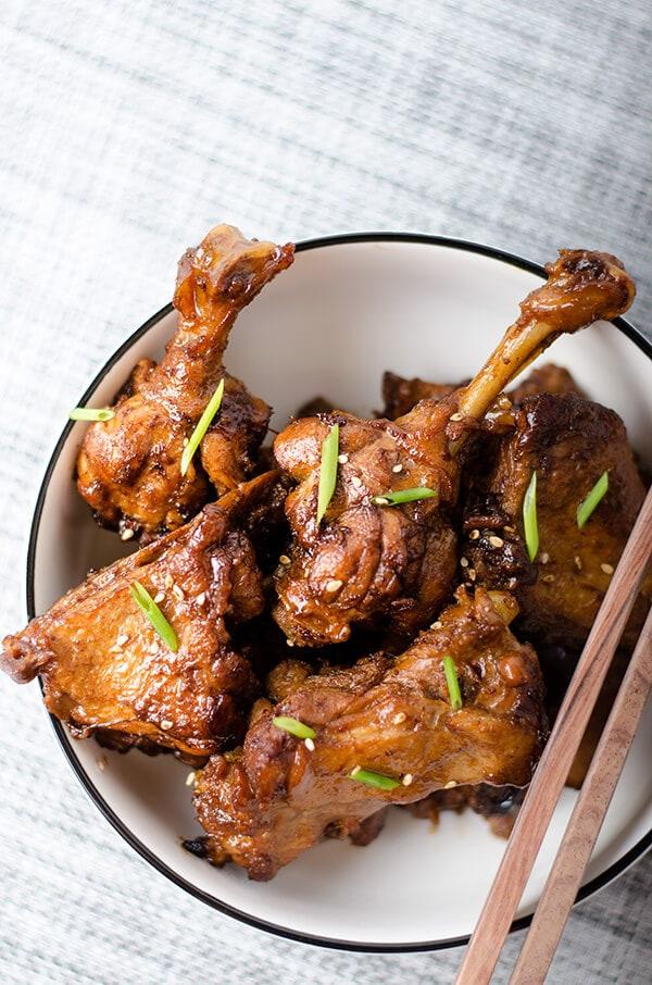 Mom S Best Braised Duck Leg Omnivore S Cookbook
