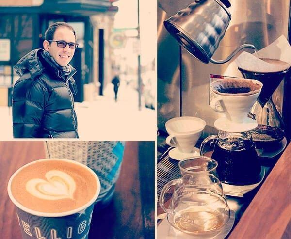 Trip to Chicago Recap - morning coffee   omnivorescookbook.com