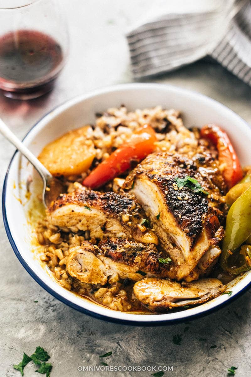 African Chicken (Macanese One-Pan Chicken Curry, 非洲鸡) | One Pot | Recipes | Chicken | curry | Easy | Coconut | Healthy | Casserole | Thighs | Baked | Stew | Peanut Butter