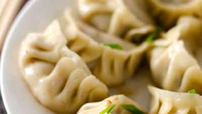 San Xian Potsticker with Pork, Shrimp and Shiitake Mushroom | omnivorescookbook.com