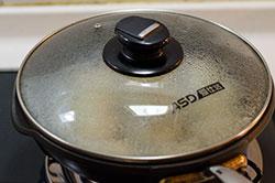 San Xian Potsticker with Pork, Shrimp and Shiitake Mushroom cooking process   omnivorescookbook.com