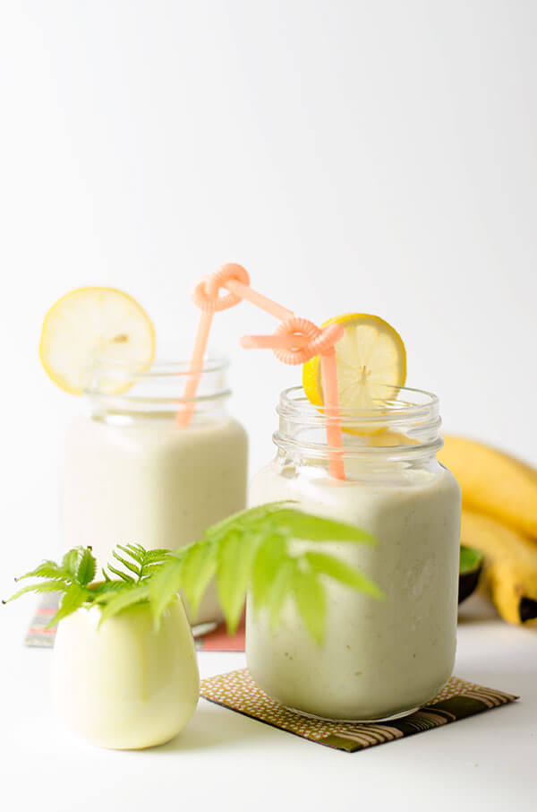 The Best three-ingredient Avocado Smoothie | omnivorescookbook.com