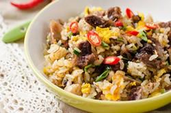Mongolian Beef Fried Rice Thumbnail | omnivorescookbook.com