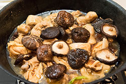 Moms best braised chicken with mushrooms omnivores braised chicken and mushroom cooking process omnivorescookbook forumfinder Choice Image