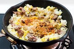 Mongolian Beef Fried Rice Cooking Process | omnivorescookbook.com