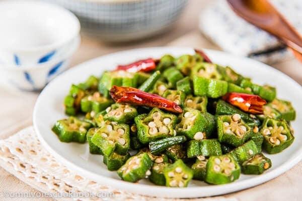 20 best chinese vegetable stir fry recipes omnivores cookbook four ingredient okra stir fry omnivorescookbook forumfinder Gallery