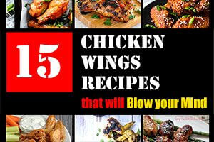15 Chicken Wings Recipes that Will Blow your Mind Thumbnail | omnivorescookbook.com