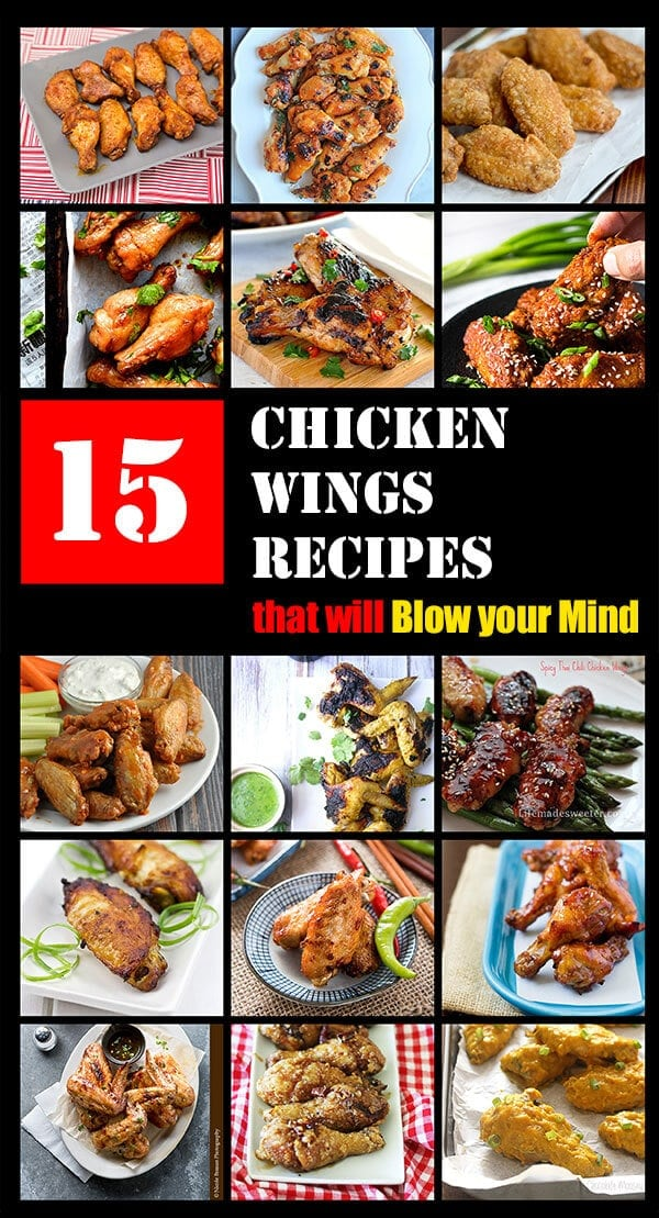 15 Chicken Wings Recipes that Will Blow your Mind   omnivorescookbook.com