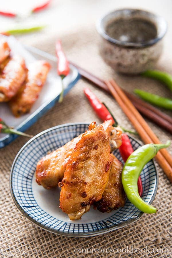 15 Chicken Wings Recipes that Will Blow your Mind - Chinese Baked Hot Wings - Chinese Baked Hot Wings