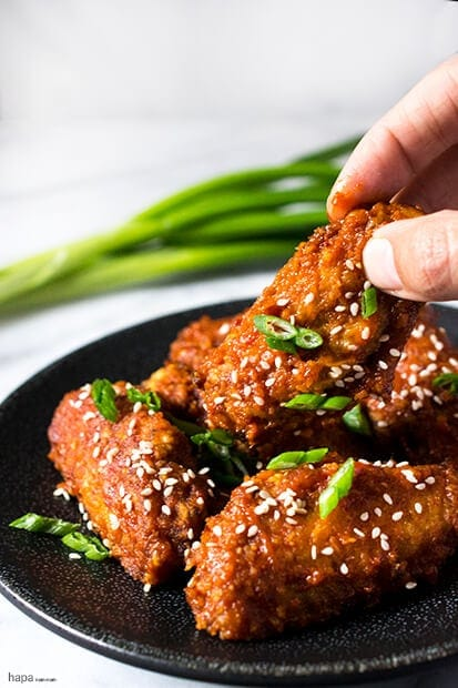 15 Chicken Wings Recipes that Will Blow your Mind - Korean Fried Chicken
