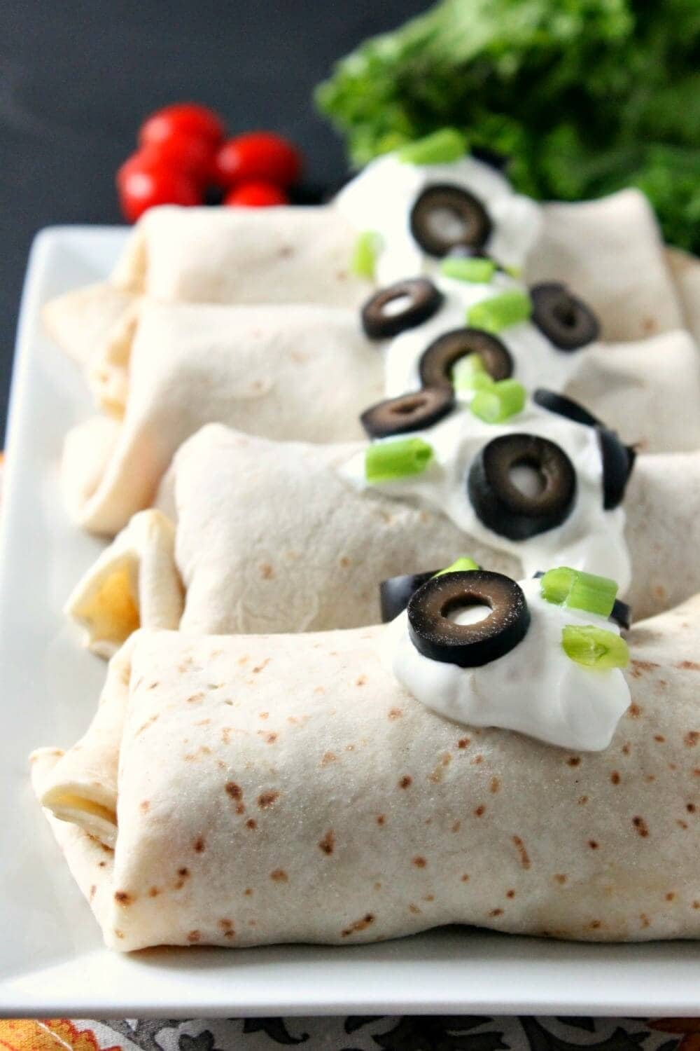 Baked Chicken Chimichangas - 6 Healthy Recipes to Kick Off the New Year