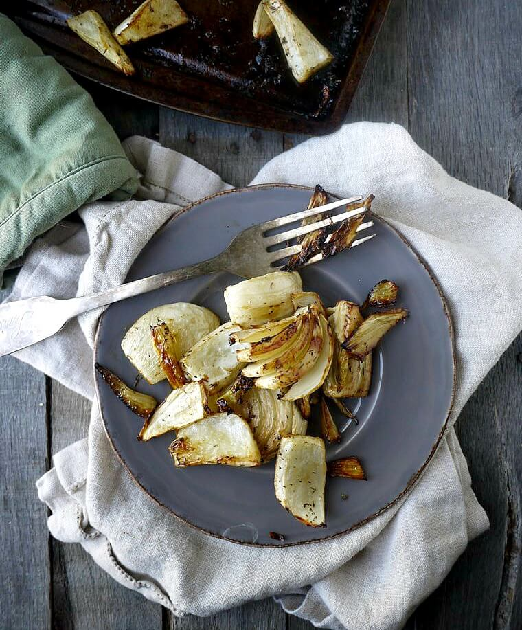 Balsamic and Thyme Roasted Fennel - 6 Healthy Recipes to Kick Off the New Year