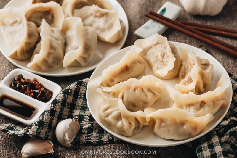 Water boiled lamb dumplings
