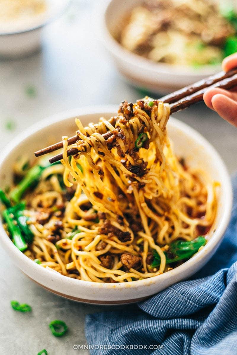 Dan Dan Noodles (担担面) | Omnivore's Cookbook