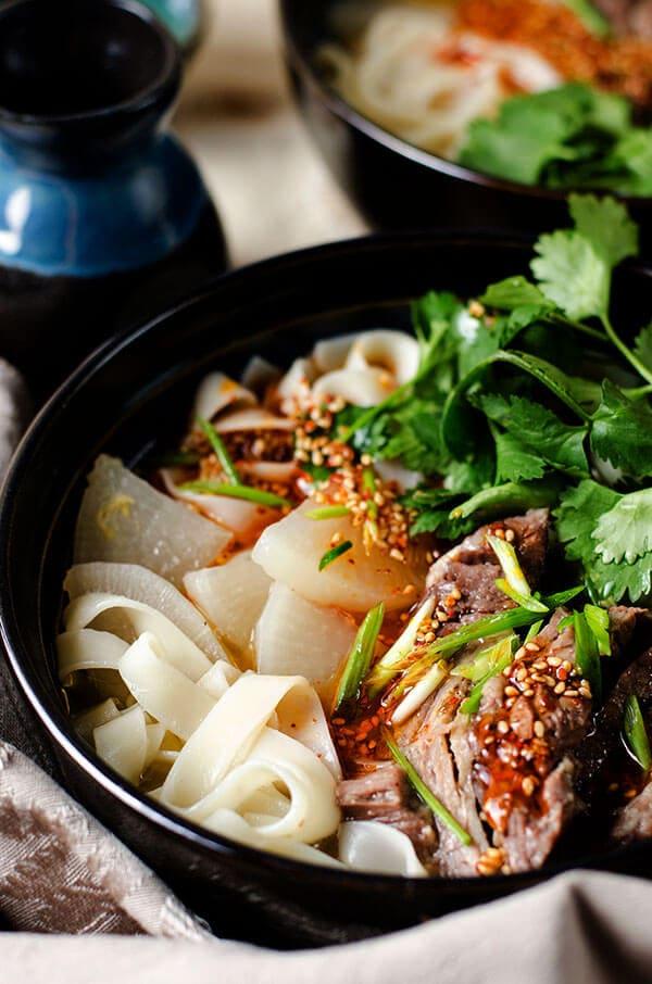 Lanzhou Beef Noodles | omnivorescookbook.com
