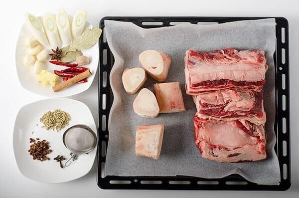 Lanzhou Beef Noodles Ingredients | omnivorescookbook.com