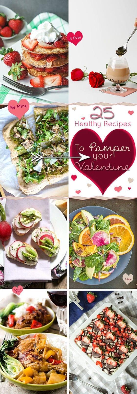 25 Healthy Recipes to Pamper Your Valentine - Cover | omnivorescookbook.com
