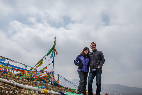 Thomas and Me at Tibetan Plateau | omnivorescookbook.com