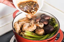 Clay Pot Chicken Rice Cooking Process   omnivorescookbook.com