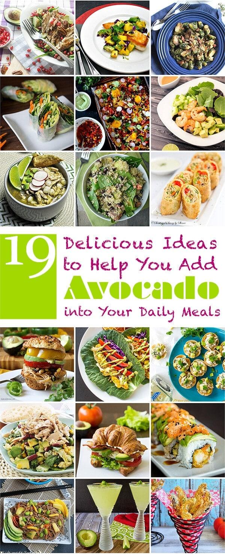 19 Delicious Ideas to Help You Add Avocado into Your Daily Meals | omnivorescookbook.com