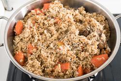 Lamb Pilaf Cooking Process   omnivoerscookbook.com