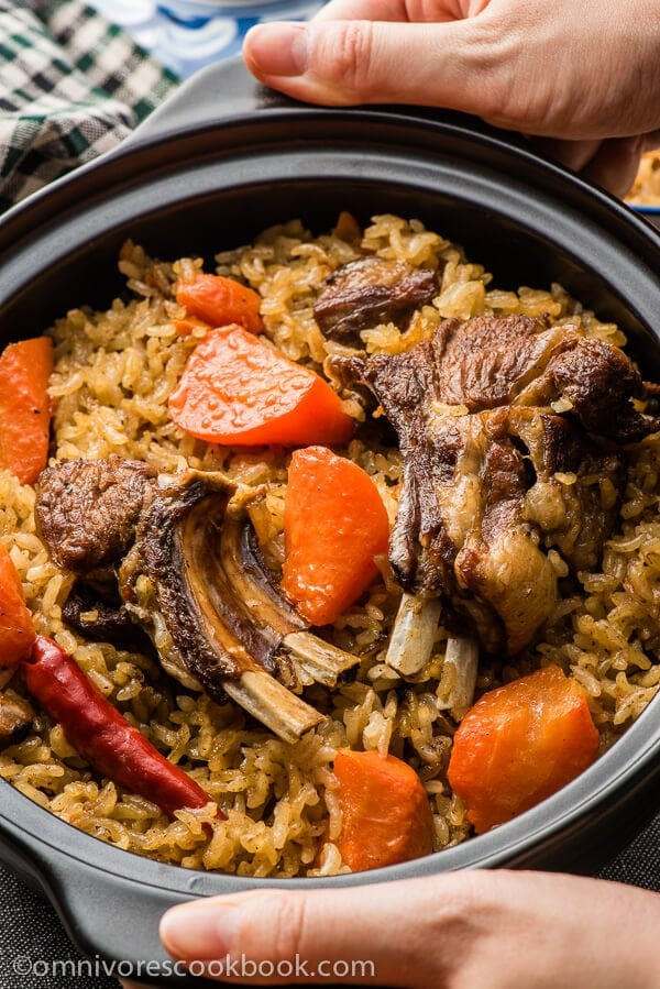 Lamb Pilaf - a western Chinese treasure | omnivoerscookbook.com
