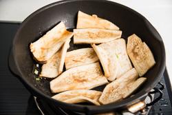 Teriyaki King Oyster Mushroom Cooking Process   Omnivorescookbook.com