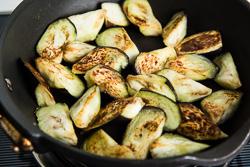 Chinese Eggplant with Garlic Sauce Cooking Process   omnivorescookbook.com