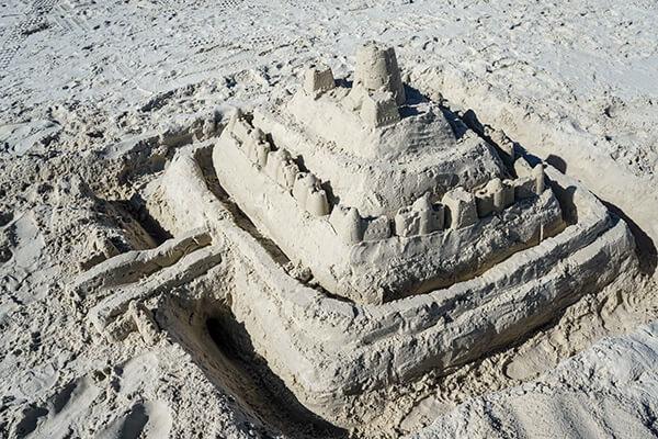 Sand Castle - Spring Break 2015 in Florida | omnivorescookbok.com