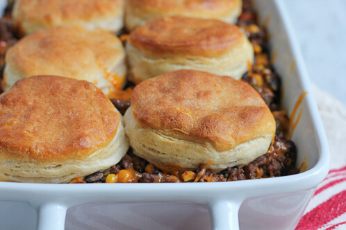 18 Quick and Easy Mexican Recipes - Mexican Biscuit Casserole