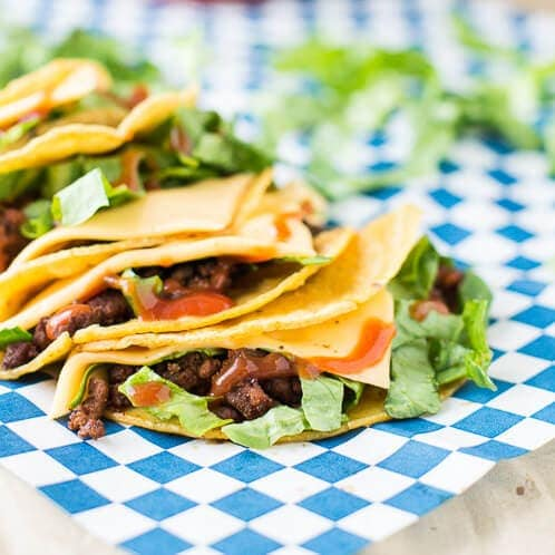 18 Quick and Easy Mexican Recipes - Healthier Jack in the Box Tacos