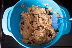 Cranberry Coconut Flour Muffin Cooking Process | omnivorescookbook.com