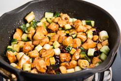 Easy Kung Pao Chicken Cooking Process | omnivorescookbook.com