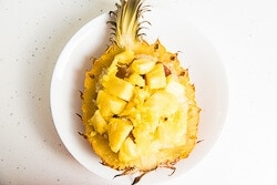 Yunnan Style Pineapple Rice Cooking Process | omnivorescookbook.com