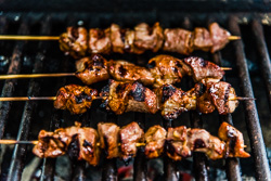 Cha Siu Kebab Cooking Process | omnivorescookbook.com