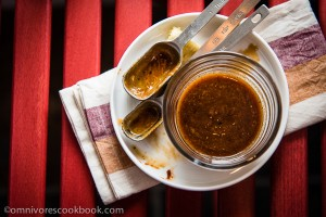 Homemade Hoisin Sauce - Try this homemade hoisin sauce once and you will never want to use a store bought one again. | omnivorescookbook.com