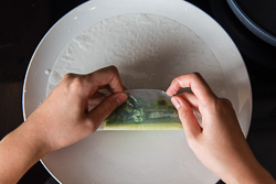 Summer Kale Rolls Cooking Process | omnivorescookbook.com