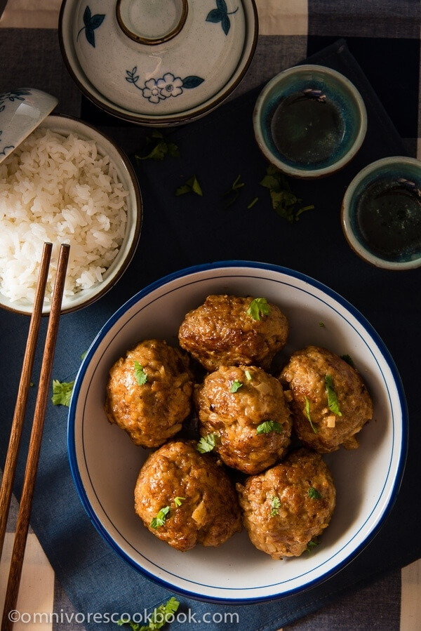 Chinese meatballs asian market images