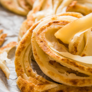 Crispy Bing Bread (家常饼) - Crispy surface, creamy texture, as light as puff pastry! | omnivorescookbook.com