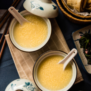 Millet Porridge (小米粥) - an easy, comforting, and versatile side that takes only 30 minutes to make | omnivorescookbook.com