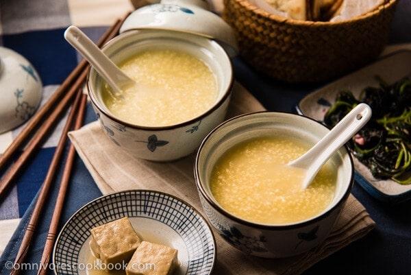 Simple Millet Porridge 小米粥 Omnivore S Cookbook