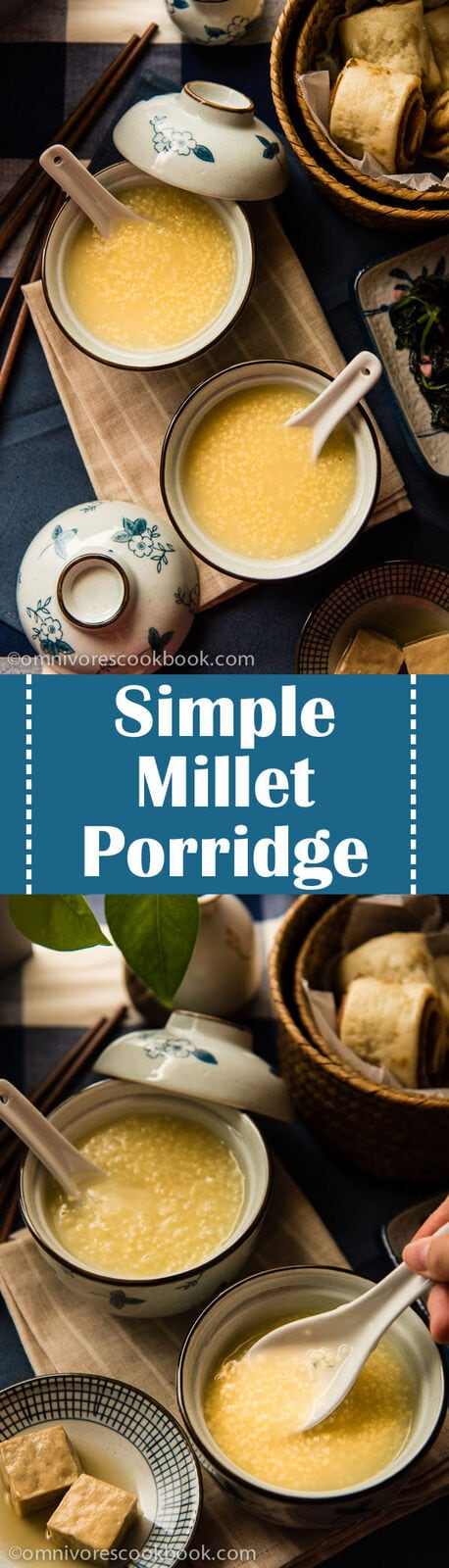 Millet Porridge - an easy, comforting, and versatile side that takes only 30 minutes to make   omnivorescookbook.com