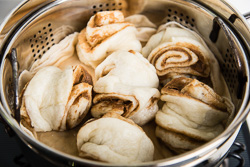 Nutty Steamed Bun Cooking Process | omnivorescookbook.com