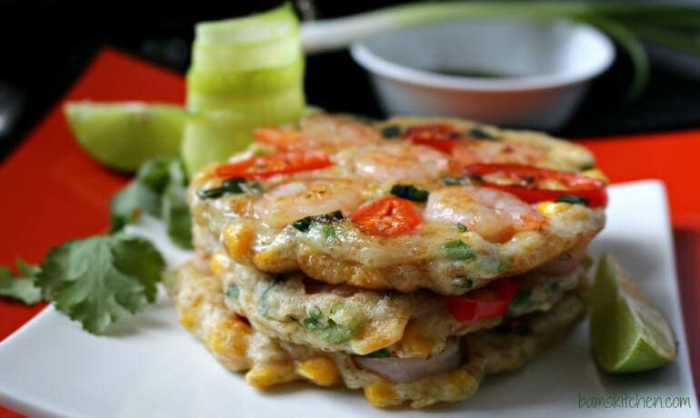 Thai Shrimp Pancakes