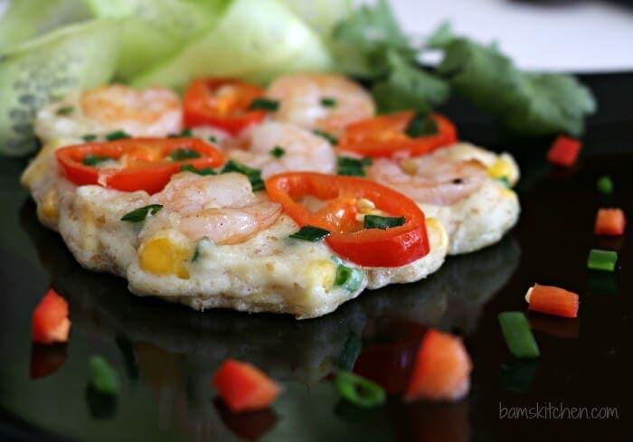 Thai Shrimp Pancakes