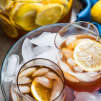 The Best Honey Lemon Tea - This recipe marinates sliced lemons in honey to create a much richer and smoother body. It's soothing, healing, and so comforting! | omnivorescookbook.com