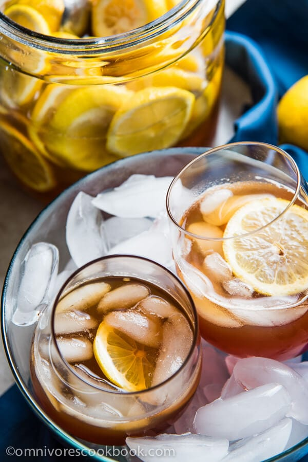 Best Honey Lemon Tea - This recipe marinates sliced lemons in honey ...